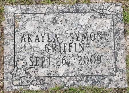 GRIFFIN, AKAYLA SYMONE - Bowie County, Texas | AKAYLA SYMONE GRIFFIN - Texas Gravestone Photos