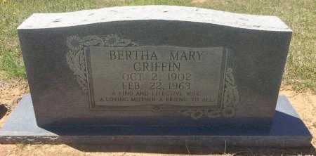 GRIFFIN, BERTHA MARY - Bowie County, Texas | BERTHA MARY GRIFFIN - Texas Gravestone Photos