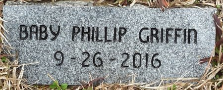 GRIFFIN, BABY PHILLIP - Bowie County, Texas | BABY PHILLIP GRIFFIN - Texas Gravestone Photos