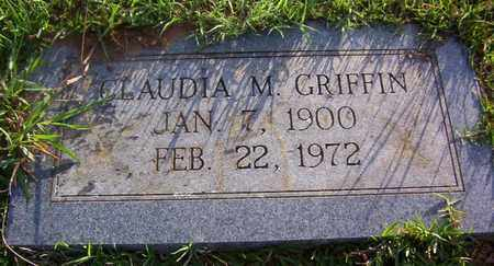 GRIFFIN, CLAUDIA M - Bowie County, Texas | CLAUDIA M GRIFFIN - Texas Gravestone Photos