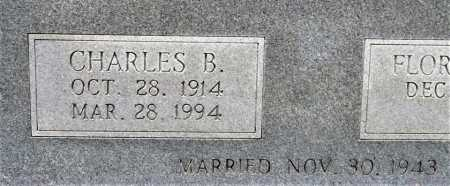 GRIFFIN, CHARLES B. (CLOSEUP) - Bowie County, Texas   CHARLES B. (CLOSEUP) GRIFFIN - Texas Gravestone Photos