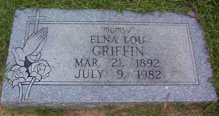 "GRIFFIN, ELNA LOU ""MUMSY"" - Bowie County, Texas   ELNA LOU ""MUMSY"" GRIFFIN - Texas Gravestone Photos"