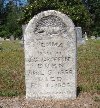 GRIFFIN, EMMA - Bowie County, Texas | EMMA GRIFFIN - Texas Gravestone Photos