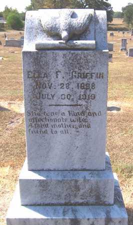 GRIFFIN, ELLA F - Bowie County, Texas | ELLA F GRIFFIN - Texas Gravestone Photos