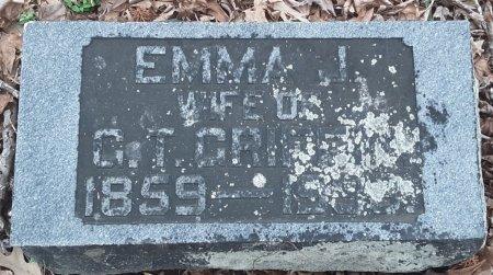 GRIFFIN, EMMA J - Bowie County, Texas | EMMA J GRIFFIN - Texas Gravestone Photos
