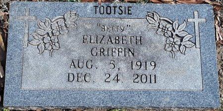 GRIFFIN, ELIZABETH - Bowie County, Texas | ELIZABETH GRIFFIN - Texas Gravestone Photos