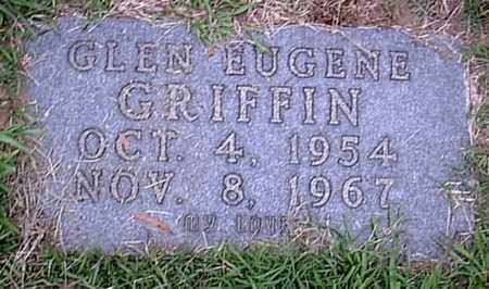 GRIFFIN, GLEN EUGENE - Bowie County, Texas | GLEN EUGENE GRIFFIN - Texas Gravestone Photos