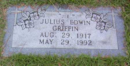 GRIFFIN, JULIUS EDWIN - Bowie County, Texas | JULIUS EDWIN GRIFFIN - Texas Gravestone Photos