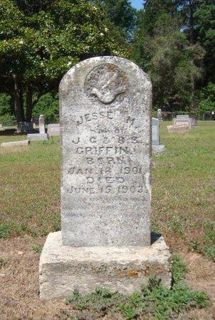 GRIFFIN, JESSE M. - Bowie County, Texas | JESSE M. GRIFFIN - Texas Gravestone Photos