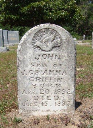 GRIFFIN, JOHN - Bowie County, Texas   JOHN GRIFFIN - Texas Gravestone Photos