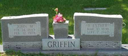 GRIFFIN, JOHN M - Bowie County, Texas | JOHN M GRIFFIN - Texas Gravestone Photos