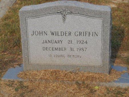 GRIFFIN, JOHN WILDER - Bowie County, Texas   JOHN WILDER GRIFFIN - Texas Gravestone Photos