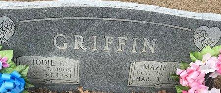 GRIFFIN, MAZIE N - Bowie County, Texas | MAZIE N GRIFFIN - Texas Gravestone Photos