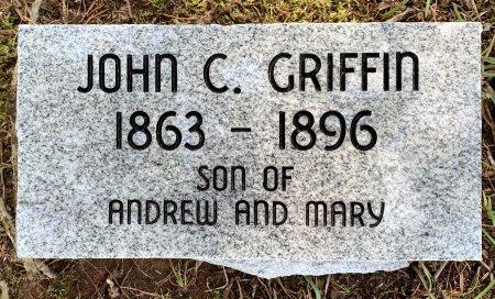 GRIFFIN, JOHN C - Bowie County, Texas | JOHN C GRIFFIN - Texas Gravestone Photos