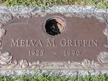 GRIFFIN, MELVA M - Bowie County, Texas   MELVA M GRIFFIN - Texas Gravestone Photos