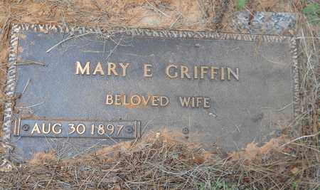 GRIFFIN, MARY E - Bowie County, Texas | MARY E GRIFFIN - Texas Gravestone Photos