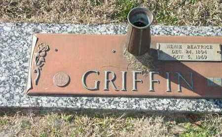 GRIFFIN, NENIE BEATRICE - Bowie County, Texas   NENIE BEATRICE GRIFFIN - Texas Gravestone Photos