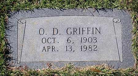 GRIFFIN, O D - Bowie County, Texas | O D GRIFFIN - Texas Gravestone Photos