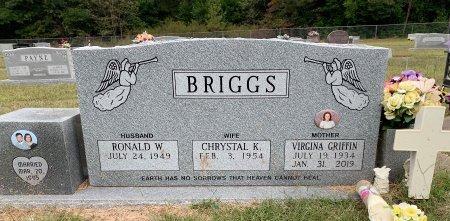 GRIFFIN, VIRGINIA - Bowie County, Texas   VIRGINIA GRIFFIN - Texas Gravestone Photos