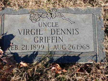 GRIFFIN, VIRGIL DENNIS - Bowie County, Texas | VIRGIL DENNIS GRIFFIN - Texas Gravestone Photos