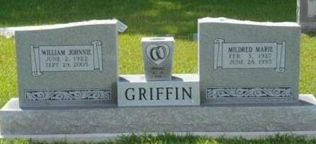 GRIFFIN, WILLIAM JOHNNIE - Bowie County, Texas | WILLIAM JOHNNIE GRIFFIN - Texas Gravestone Photos