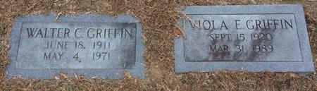 GRIFFIN, WALTER C. - Bowie County, Texas | WALTER C. GRIFFIN - Texas Gravestone Photos