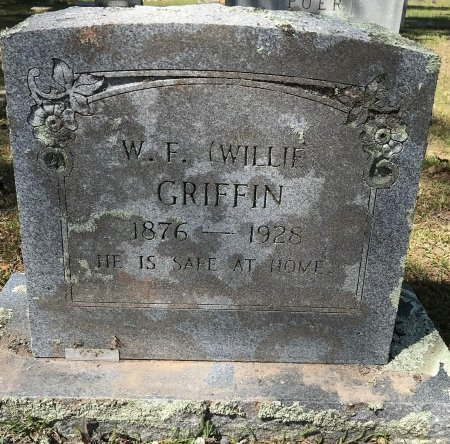 GRIFFIN, W F (WILLIE) - Bowie County, Texas   W F (WILLIE) GRIFFIN - Texas Gravestone Photos
