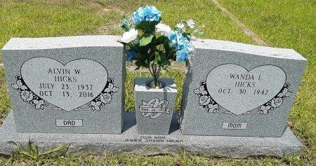 HICKS, ALVIN W - Bowie County, Texas | ALVIN W HICKS - Texas Gravestone Photos