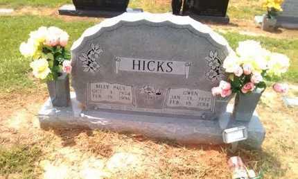 HICKS, BILLY PAUL - Bowie County, Texas   BILLY PAUL HICKS - Texas Gravestone Photos