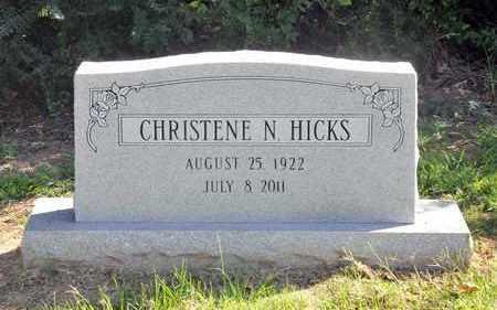 HICKS, CHRISTENE N - Bowie County, Texas | CHRISTENE N HICKS - Texas Gravestone Photos