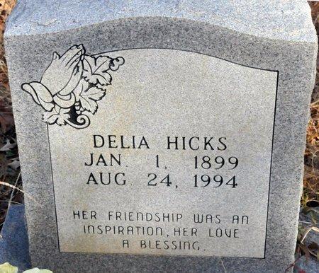 HICKS, DELIA - Bowie County, Texas | DELIA HICKS - Texas Gravestone Photos