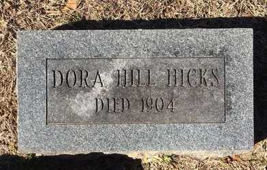 HICKS, DORA - Bowie County, Texas | DORA HICKS - Texas Gravestone Photos