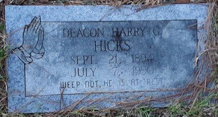 HICKS, HARRY G. - Bowie County, Texas   HARRY G. HICKS - Texas Gravestone Photos