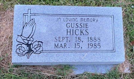 HICKS, GUSSIE - Bowie County, Texas | GUSSIE HICKS - Texas Gravestone Photos