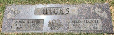 HICKS, HELEN FRANCES - Bowie County, Texas | HELEN FRANCES HICKS - Texas Gravestone Photos