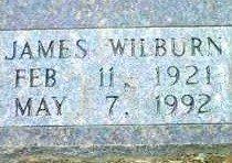 HICKS, JAMES WILBURN (CLOSEUP) - Bowie County, Texas | JAMES WILBURN (CLOSEUP) HICKS - Texas Gravestone Photos