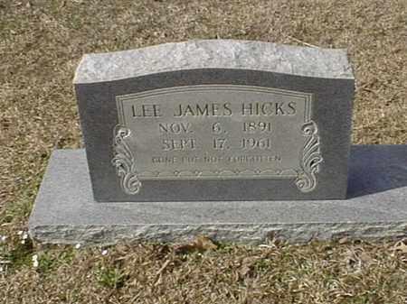 HICKS, LEE JAMES - Bowie County, Texas | LEE JAMES HICKS - Texas Gravestone Photos