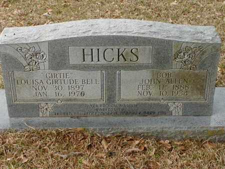 "HICKS, LOUISA GIRTRUDE ""GIRTIE"" - Bowie County, Texas | LOUISA GIRTRUDE ""GIRTIE"" HICKS - Texas Gravestone Photos"