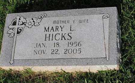 HICKS, MARY L - Bowie County, Texas | MARY L HICKS - Texas Gravestone Photos