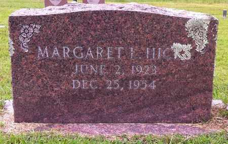 HICKS, MARGARET L - Bowie County, Texas   MARGARET L HICKS - Texas Gravestone Photos