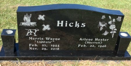 HICKS, MORRIS WAYNE - Bowie County, Texas | MORRIS WAYNE HICKS - Texas Gravestone Photos