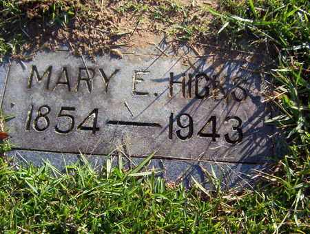 HICKS, MARY E - Bowie County, Texas | MARY E HICKS - Texas Gravestone Photos