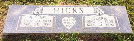 HICKS, CLARA - Bowie County, Texas | CLARA HICKS - Texas Gravestone Photos