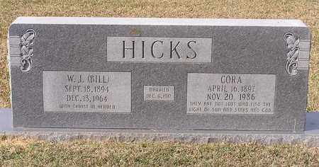 HICKS, W J (BILL) - Bowie County, Texas | W J (BILL) HICKS - Texas Gravestone Photos
