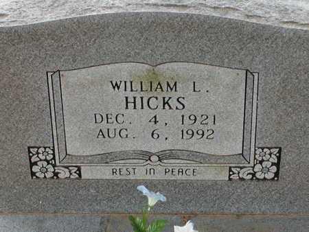 HICKS, WILLIAM L - Bowie County, Texas   WILLIAM L HICKS - Texas Gravestone Photos