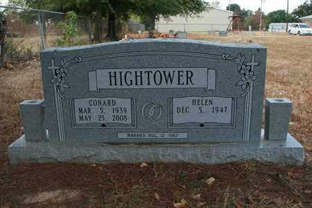 HIGHTOWER, CONARD - Bowie County, Texas | CONARD HIGHTOWER - Texas Gravestone Photos