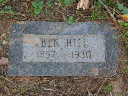 HILL, BEN - Bowie County, Texas | BEN HILL - Texas Gravestone Photos