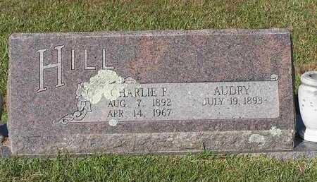 HILL, CHARLIE F - Bowie County, Texas | CHARLIE F HILL - Texas Gravestone Photos