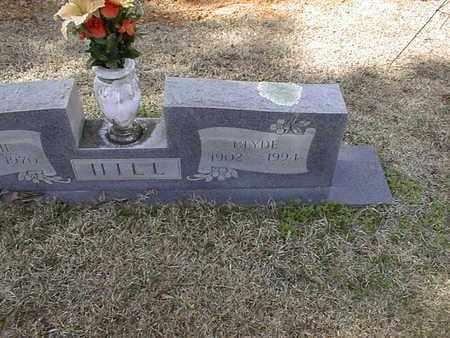HILL, CLYDE - Bowie County, Texas | CLYDE HILL - Texas Gravestone Photos