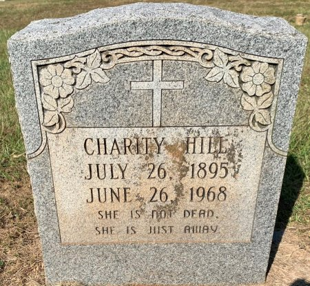 HOLLOWAY HILL, CHARITY - Bowie County, Texas | CHARITY HOLLOWAY HILL - Texas Gravestone Photos